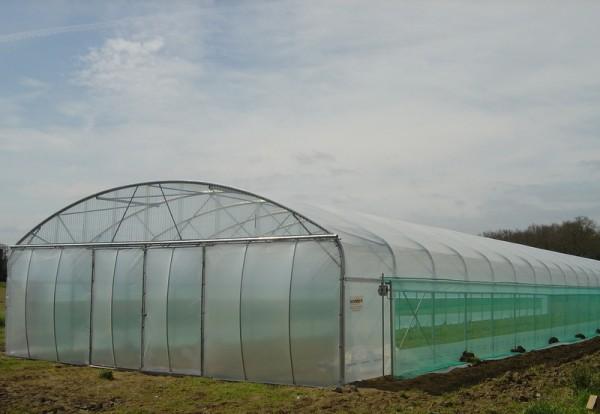 Sodiser serres plastiques et arrosage pour les professionnels serres verticlair - Cultiver sous serre et tunnel plastique ...